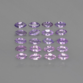thumb image of 0.1ct Marquise Facet Purple Pink Sapphire (ID: 410624)