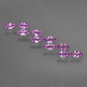 Medium Purple Zafiro Gema - 0.1ct Forma marquesa (ID: 410742)
