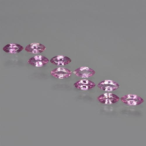 Pinkish Violet Sapphire Gem - 0.2ct Marquise Facet (ID: 410975)