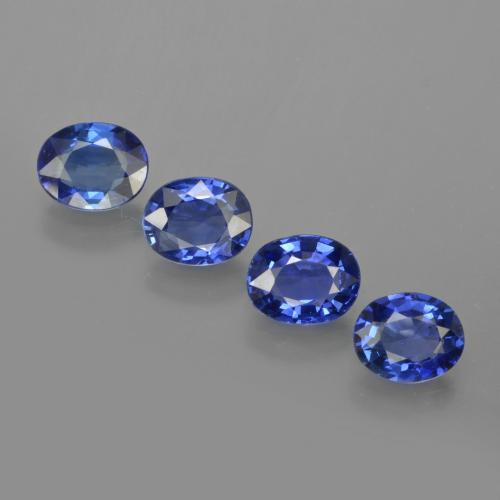 0.7ct Oval Facet Blue Sapphire Gem (ID: 417113)
