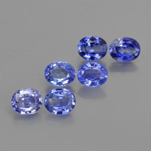 Blue Sapphire Gem - 0.4ct Oval Facet (ID: 420153)