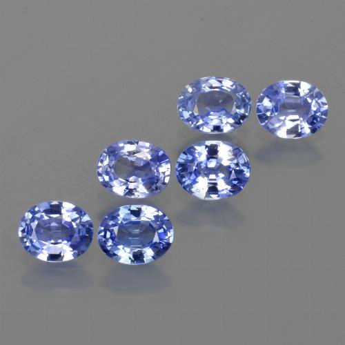 Blue Sapphire Gem - 0.4ct Oval Facet (ID: 420157)