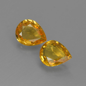 thumb image of 1.2ct Pear Facet Yellow Golden Sapphire (ID: 421687)