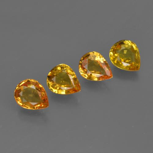 thumb image of 2.3ct Pear Facet Yellow Golden Sapphire (ID: 421834)