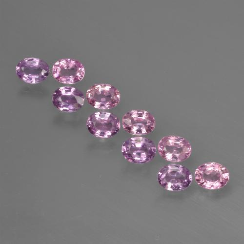 Pink Sapphire Gem - 0.2ct Oval Facet (ID: 421999)