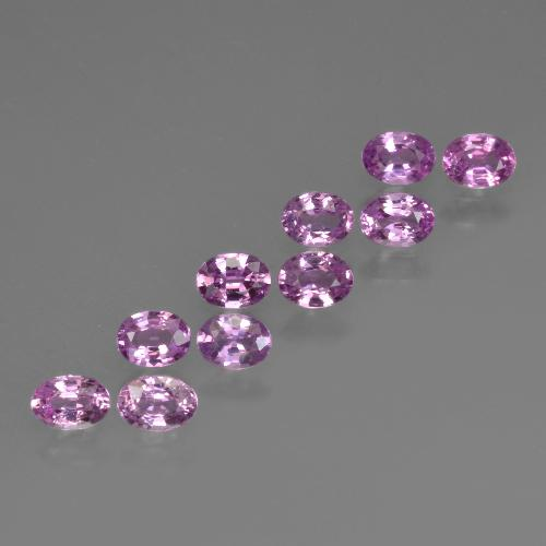 Pink Sapphire Gem - 0.2ct Oval Facet (ID: 423159)
