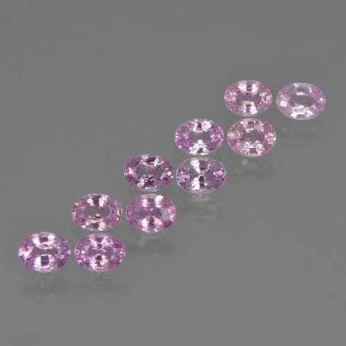 Pink Sapphire Gem - 0.2ct Oval Facet (ID: 423165)