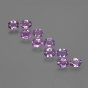 Electric Purple Zafiro Gema - 0.2ct Forma ovalada (ID: 423438)