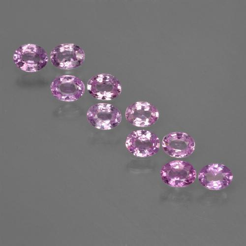 Medium Purple Zafiro Gema - 0.2ct Forma ovalada (ID: 423440)