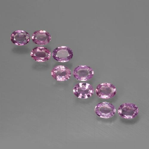 0.2ct Oval Facet Purple Pink Sapphire Gem (ID: 423445)