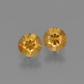 Yellow Sapphire Gem - 0.3ct Diamond-Cut (ID: 425199)