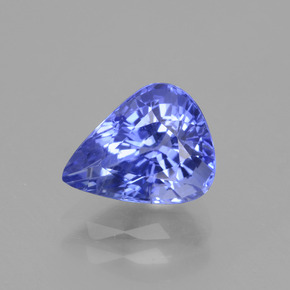 2.35 ct Pear Facet Cornflower Blue Sapphire Gemstone 8.76 mm x 7 mm (Product ID: 429663)