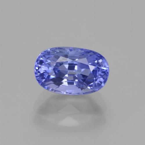 Blue Sapphire Gem - 2.1ct Oval Facet (ID: 429665)
