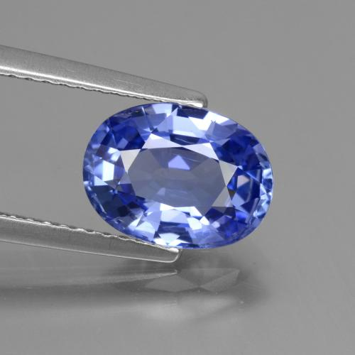Blue Sapphire Gem - 2.7ct Oval Facet (ID: 429670)