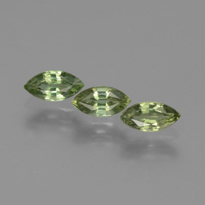 Green Sapphire Gem - 0.5ct Marquise Facet (ID: 429920)