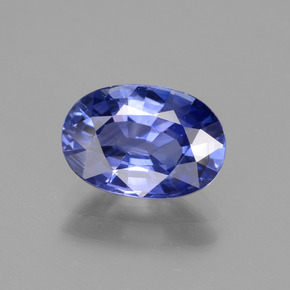 2.40 ct Oval Facet Blue Sapphire Gemstone 9.81 mm x 6.8 mm (Product ID: 435303)