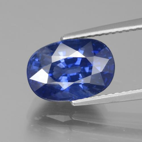 True Blue Zaffiro Gem - 4.8ct Ovale sfaccettato (ID: 439673)