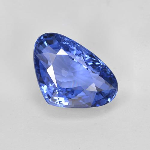 thumb image of 5.4ct Pear Facet Blue Sapphire (ID: 439691)