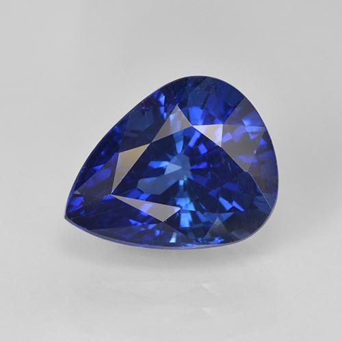 thumb image of 4.5ct Pear Facet Blue Sapphire (ID: 439698)