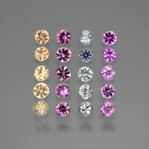 Buy 1.72 ct Multicolor Sapphire 2.66 mm  from GemSelect (Product ID: 440600)