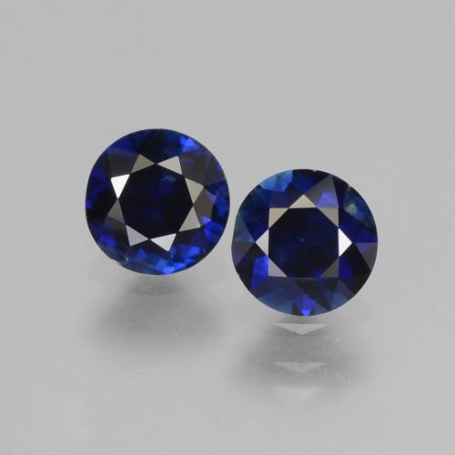 Blue Sapphire Gem - 0.6ct Diamond-Cut (ID: 441511)