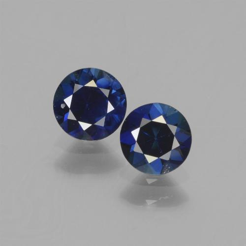 Blue Sapphire Gem - 0.6ct Diamond-Cut (ID: 441519)