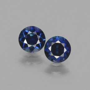 Blue Sapphire Gem - 0.5ct Diamond-Cut (ID: 441520)