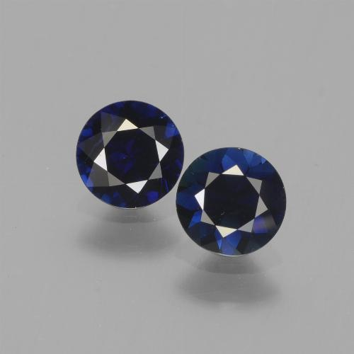 Blue Sapphire Gem - 0.6ct Diamond-Cut (ID: 441521)