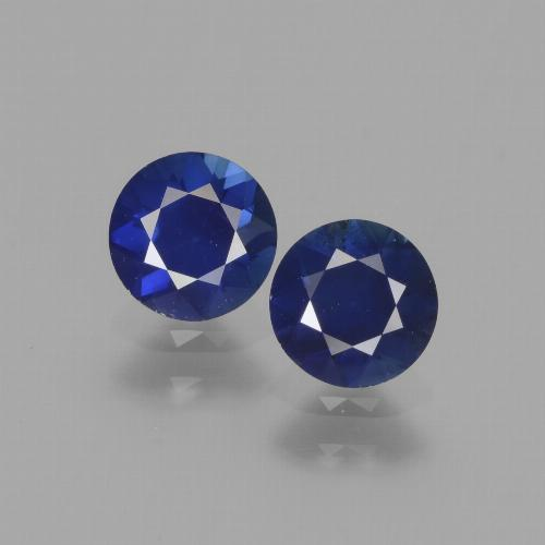 0.6ct Diamond-Cut Blue Sapphire Gem (ID: 441525)