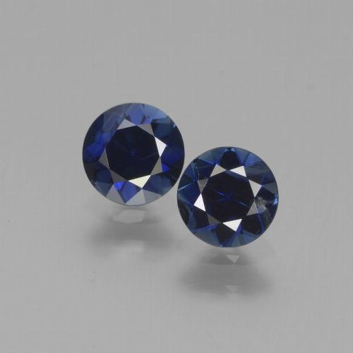 Blue Sapphire Gem - 0.5ct Diamond-Cut (ID: 441548)