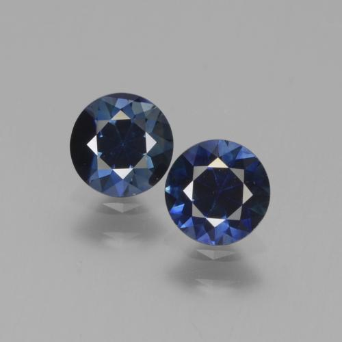 Blue Sapphire Gem - 0.6ct Diamond-Cut (ID: 441552)