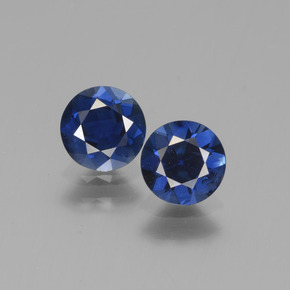 Blue Sapphire Gem - 0.7ct Diamond-Cut (ID: 441553)