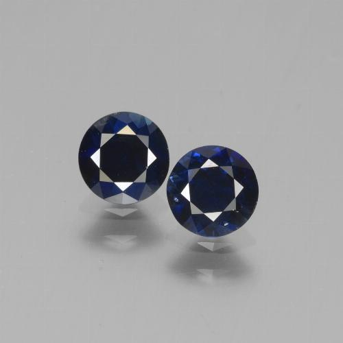 Blue Sapphire Gem - 0.5ct Diamond-Cut (ID: 441555)