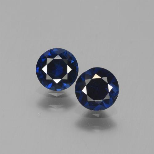 Blue Sapphire Gem - 0.6ct Diamond-Cut (ID: 441563)