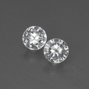 Buy 0.59 ct White Sapphire 4.25 mm  from GemSelect (Product ID: 444145)
