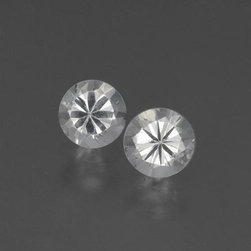 White Sapphire Gem - 0.4ct Diamond-Cut (ID: 444151)