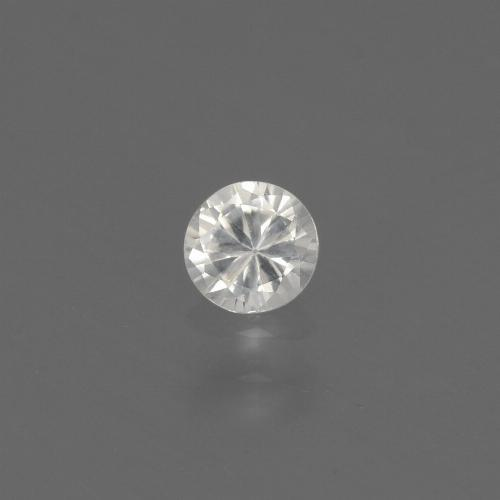 White Sapphire Gem - 0.4ct Diamond-Cut (ID: 444641)