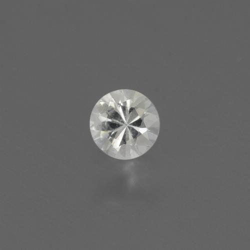 White Sapphire Gem - 0.4ct Diamond-Cut (ID: 444647)