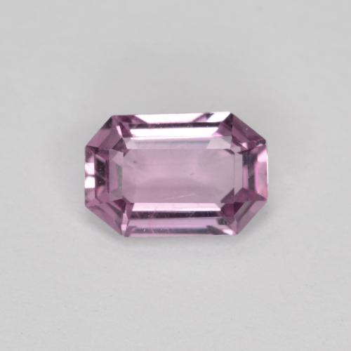 Very Light Royal Purple Pink Sapphire Gem - 0.6ct Octagon Facet (ID: 444763)