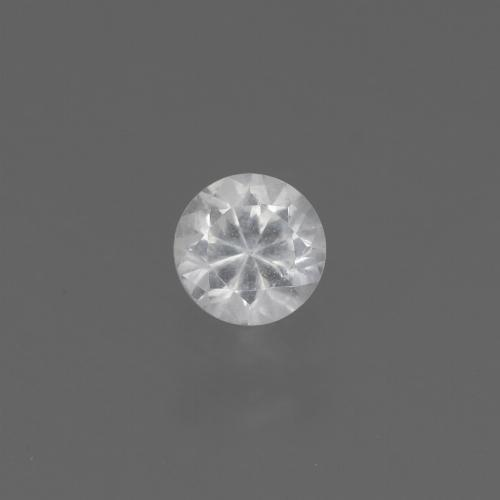 White Sapphire Gem - 0.4ct Diamond-Cut (ID: 444800)