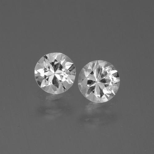 White Sapphire Gem - 0.4ct Diamond-Cut (ID: 445230)