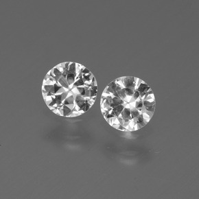 Buy 0.75 ct White Sapphire 4.48 mm  from GemSelect (Product ID: 445241)