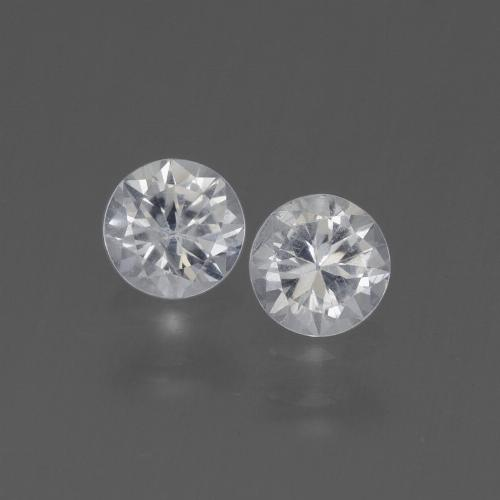 Buy 0.84 ct White Sapphire 4.47 mm  from GemSelect (Product ID: 445345)