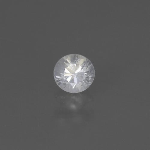 White Sapphire Gem - 0.5ct Diamond-Cut (ID: 445499)