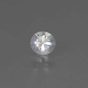 White Sapphire Gem - 0.4ct Diamond-Cut (ID: 445502)