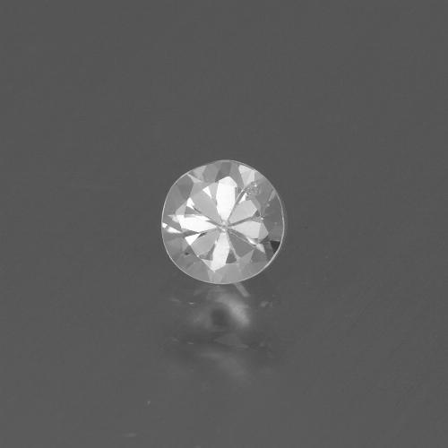 White Sapphire Gem - 0.4ct Diamond-Cut (ID: 445532)
