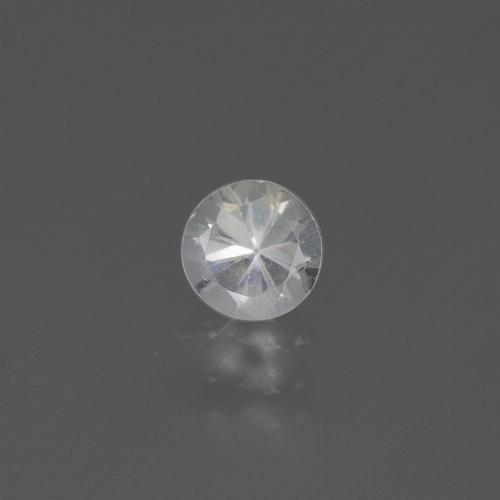 White Sapphire Gem - 0.5ct Diamond-Cut (ID: 445552)
