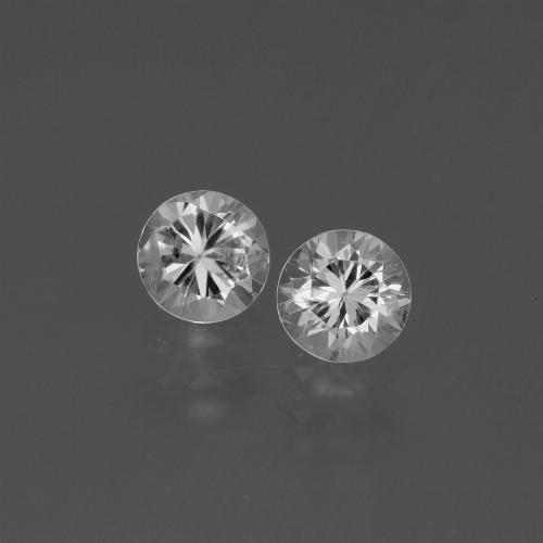 White Sapphire Gem - 0.5ct Diamond-Cut (ID: 445585)
