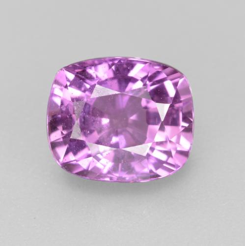 Pinkish Purple Sapphire Gem - 1.4ct Cushion-Cut (ID: 447671)