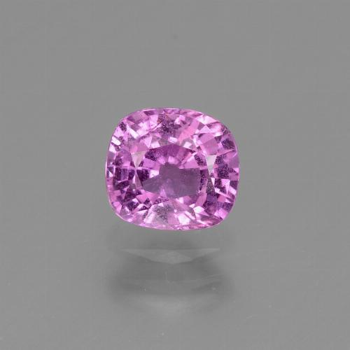 Hot Pink Sapphire Gem - 1.1ct Cushion-Cut (ID: 447680)